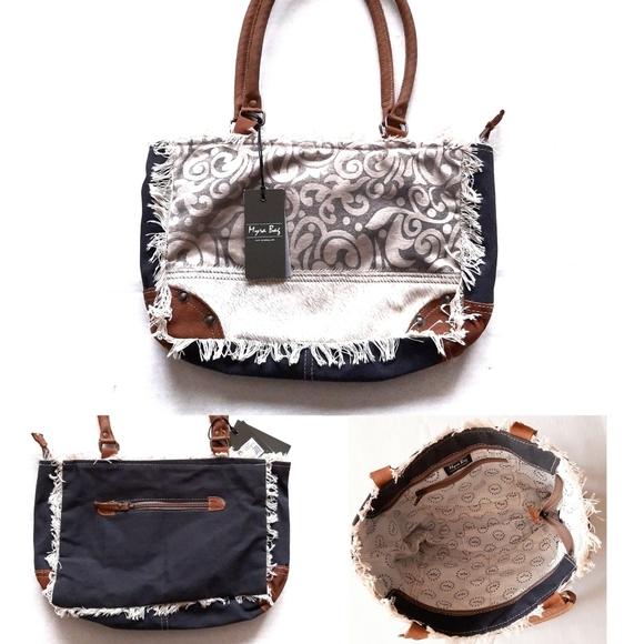 Myra Bag Bags Myra Leaf Print Small Bag Blue 1410 Nwt Poshmark Xiaomi youpin pet outing bag. poshmark
